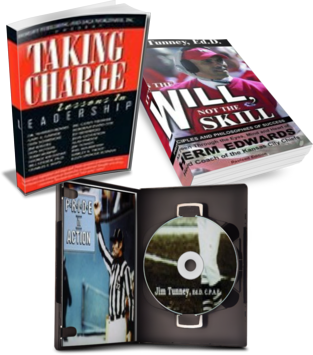 Books by Dr. Jim Tunney