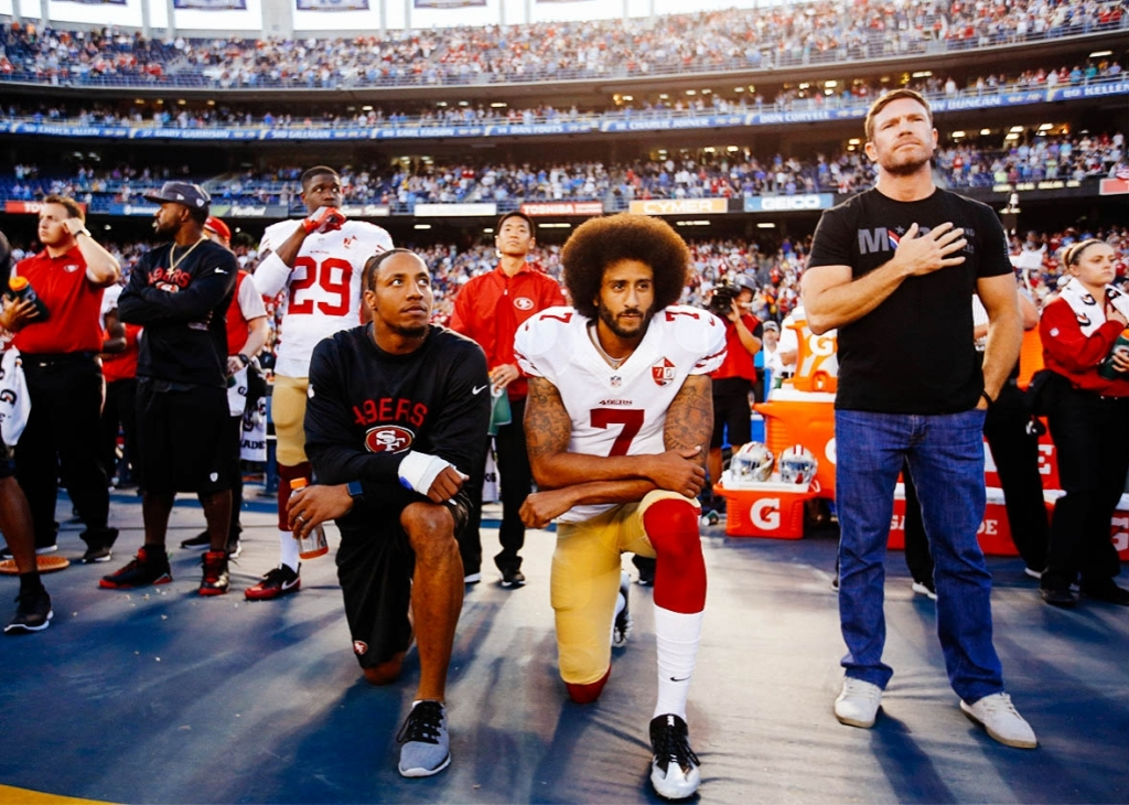 On the TUNNEYSIDE of SPORTS January 16, 2017 # 628 Up next...Is Kap Inspirational?
