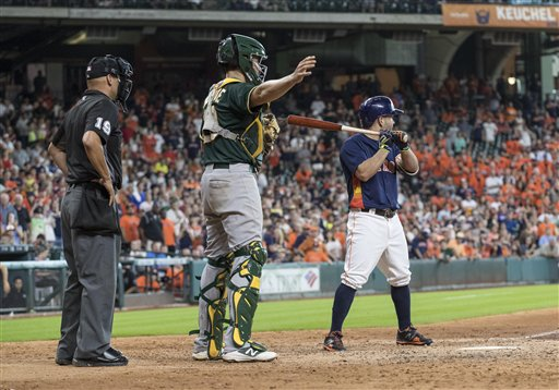 MLB 2016: Athletics vs Astros JUL 10