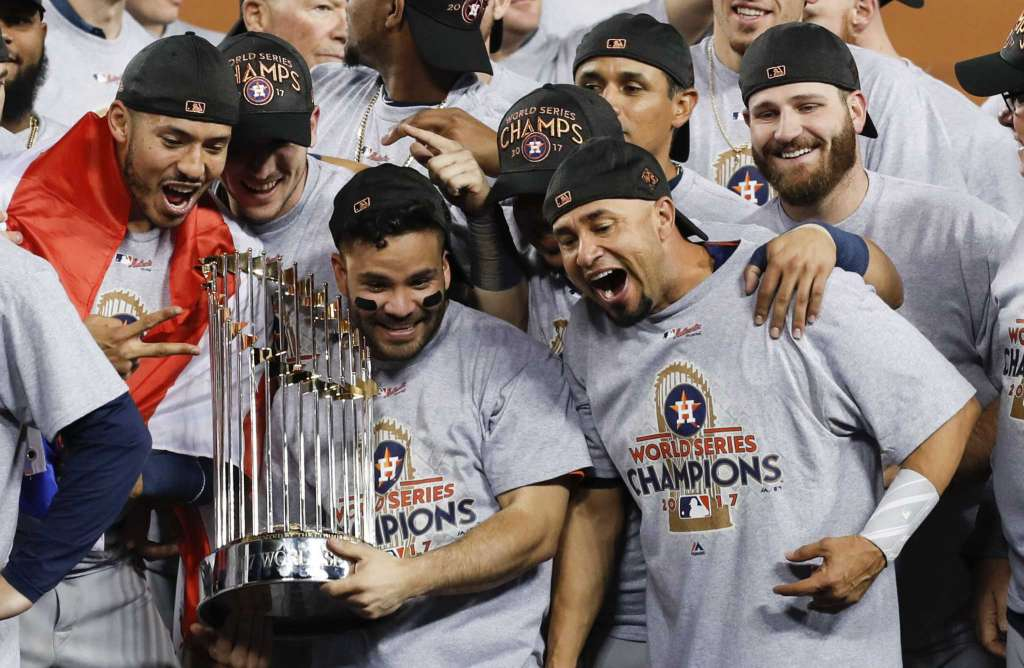 Houston Astros can rejoice with their World Series Trophy