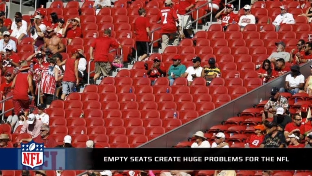 NFL empty seats
